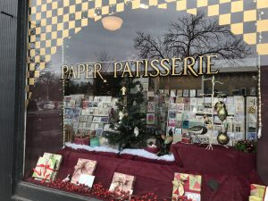 storefront of Paper Patisserie