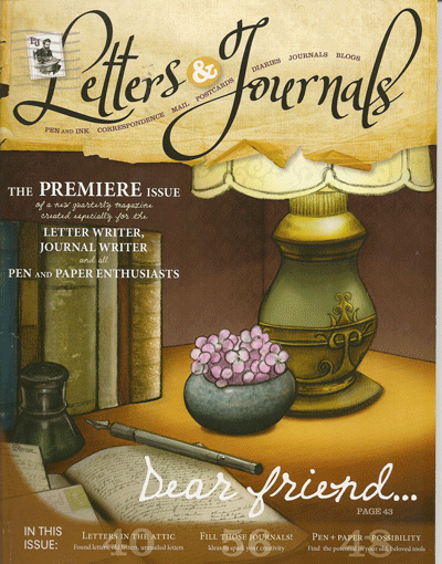 Letters & Journals Magazine Cover