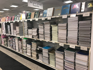 University of MN Bookstore, stationery and notebooks
