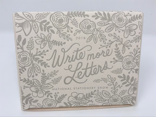 Write More Letters collector's box