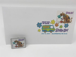 scoobydoo postmark on envelope