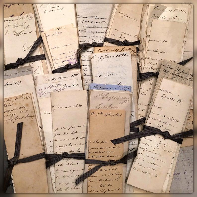 ephemera paper bundles
