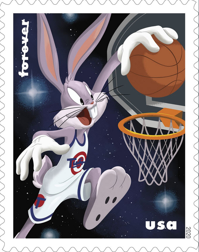 bugs bunny postage stamps