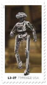 Star Wars Droid Stamp